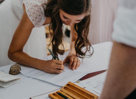 Namensänderung bei Heirat